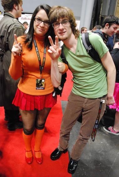 Cutest Shaggy & Velma couple